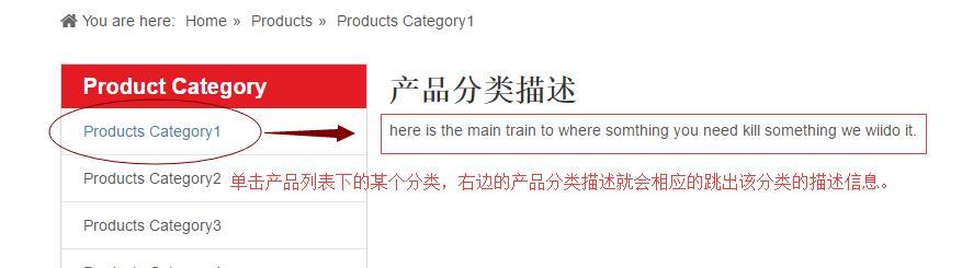 產品分類描述3